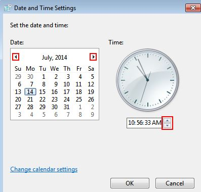 Date and Time Configuration