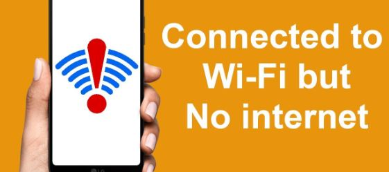How to Fix Wifi Connected No Internet Problem.
