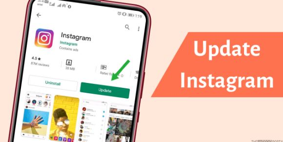 Update the Instagram App on your Device