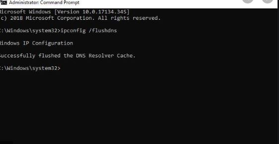 Use Command Prompt to Flush DNS