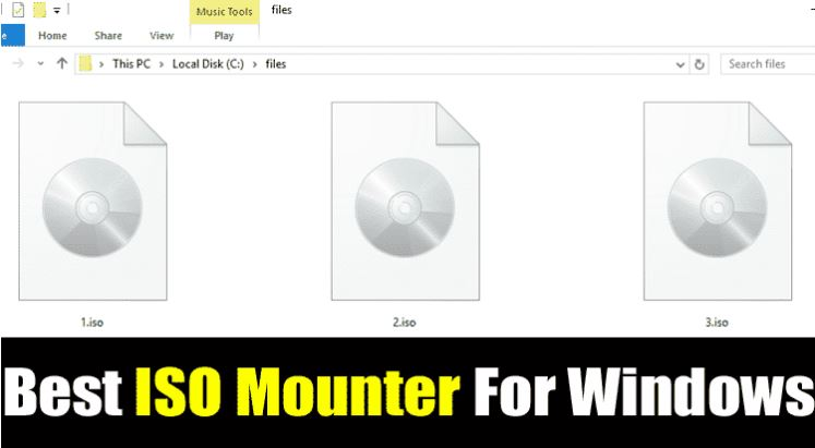 Best ISO Mounter
