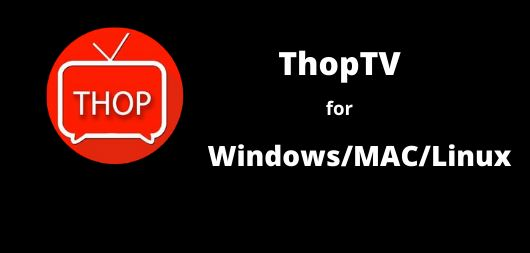 How to Install Thop TV for Mac