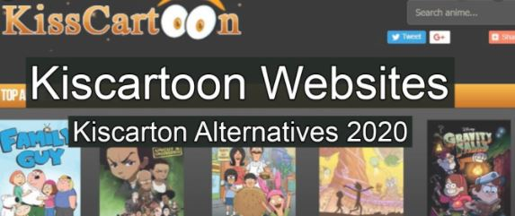 Kisscartoon alternatives.