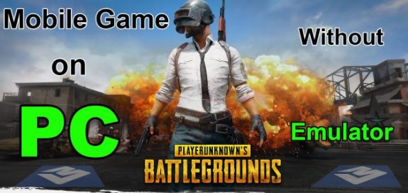 PUBG PC Game Free Download Without Emulators.